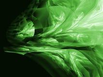 Diseño de alta tecnología moderno - luz verde Imágenes de archivo libres de regalías