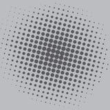 Diseño de Art Grey Dots Comic Background Vector Template del estallido Imagen de archivo libre de regalías