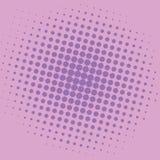 Diseño de Art Orchid Violet Purple Magenta Dots Comic Background Vector Template del estallido Fotografía de archivo