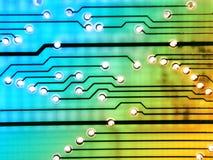Diseño de circuito foto de archivo libre de regalías