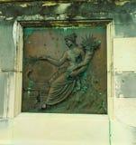 Diseño de cobre grabado en relieve Fotografía de archivo
