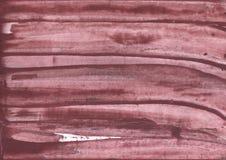 Diseño de color marrón atractivo de la acuarela Foto de archivo libre de regalías