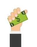 Diseño de concepto del dinero libre illustration