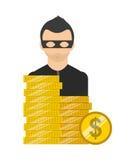 Diseño de concepto del dinero ilustración del vector