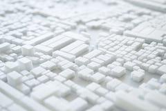 Diseño de concepto modelo del paisaje urbano de Urban de la arquitectura Fotografía de archivo