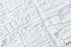 Diseño de concepto modelo del paisaje urbano de Urban de la arquitectura Fotos de archivo libres de regalías