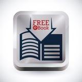 Diseño de EBook Foto de archivo libre de regalías