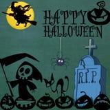 Diseño de Halloween Foto de archivo