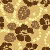 Diseño de Hibicus Foto de archivo libre de regalías