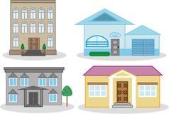 Diseño de hogares urbanos Imagen de archivo