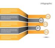 Diseño de Infographic para la graduación del producto Fotografía de archivo libre de regalías