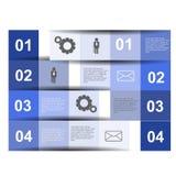 Diseño de Infographics Imagenes de archivo