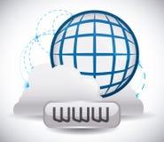 Diseño de Internet Imagen de archivo libre de regalías