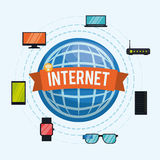 Diseño de Internet Fotos de archivo