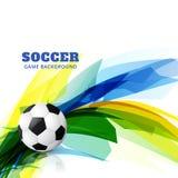 Diseño de juego de fútbol ilustración del vector