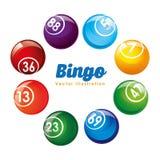 Diseño de juego del casino stock de ilustración