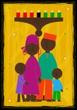 Diseño de Kwanzaa Imagen de archivo