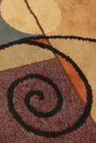 Diseño de la alfombra fotos de archivo libres de regalías