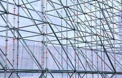 Diseño de la altitud de tubos de aluminio Fotografía de archivo