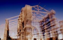 Diseño de la arquitectura en el sur de Italia Imagen de archivo libre de regalías