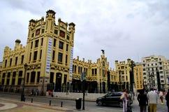 Diseño de la arquitectura en Valencia Spain Imagenes de archivo