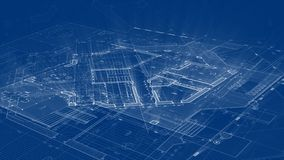 Diseño de la arquitectura: plan del modelo - ejemplo de un plan stock de ilustración