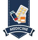 Diseño de la asistencia médica libre illustration