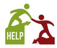 Diseño de la ayuda Imagen de archivo libre de regalías