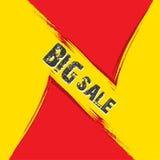 Diseño de la bandera de la venta del negocio Foto de archivo libre de regalías