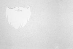 Diseño de la barba del inconformista foto de archivo