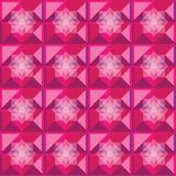 Diseño de la baya del modelo de los cuadrados Ilustración del Vector
