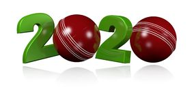 Dise?o de la bola de grillo 2020 en la rotaci?n infinita ilustración del vector
