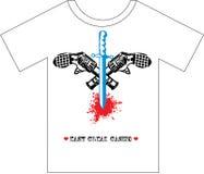 Diseño de la camiseta Fotografía de archivo libre de regalías