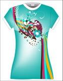Diseño de la camiseta de la ilustración Imagenes de archivo