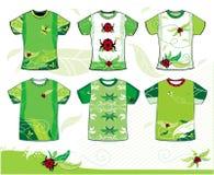 Diseño de la camiseta del verano.