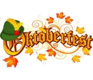 Diseño de la celebración de Oktoberfest foto de archivo libre de regalías