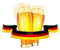 Diseño de la celebración de Oktoberfest Imagen de archivo
