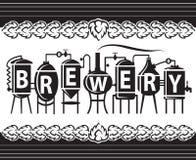 Diseño de la cerveza Imagenes de archivo