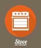 Diseño de la cocina Fotografía de archivo