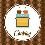 Diseño de la cocina Imagenes de archivo