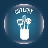 Diseño de la cocina Foto de archivo libre de regalías