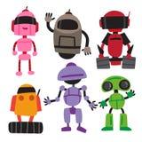 Diseño de la colección del vector del robot libre illustration