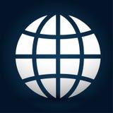 Diseño de la comunicación global stock de ilustración