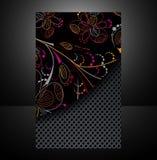 Diseño de la cubierta Foto de archivo libre de regalías