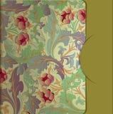 Diseño de la cubierta de la carpeta Imágenes de archivo libres de regalías