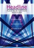 Diseño de la cubierta de libro A4 Modelo del asunto Vector Imagen de archivo