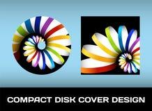 Diseño de la cubierta del disco Foto de archivo libre de regalías