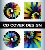 Diseño de la cubierta del disco Imagen de archivo