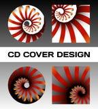 Diseño de la cubierta del disco Fotografía de archivo libre de regalías