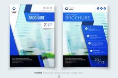 Diseño de la cubierta, del folleto o del aviador del informe anual del negocio corporativo Presentación del prospecto Catálogo co Imágenes de archivo libres de regalías
